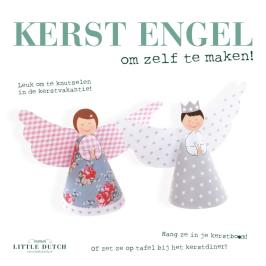 Kerstengeltjes DIY van Little Dutch