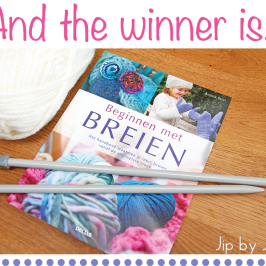 Winner of the knitting book give away